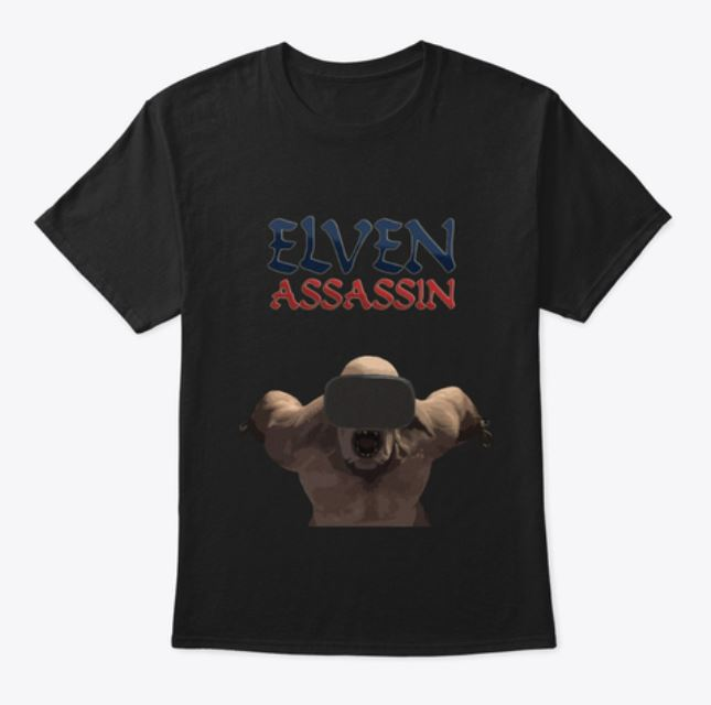 Tshirt Elven Assassin